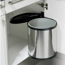 poubelle pour meuble de cuisine poubelle integree meuble cuisine maison design bahbe avec table