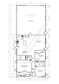 Basement Floor Plans 2000 Sq Ft Barndominium Floor Plans For Planning Your Barndominium