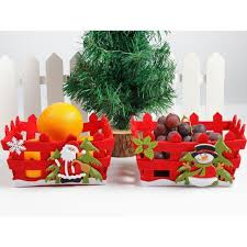 christmas fruit baskets christmas candy fruit basket event apples gift basket hollow
