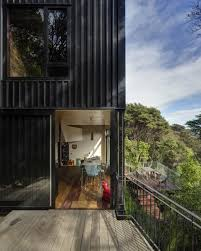 tall dark and handsome 4 split level home in auckland