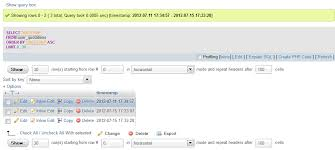 varchar date format php mysql order timest values ascending in order from newest to