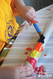 didgeridoo craft for kids mess for less