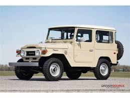 toyota land cruiser 1977 toyota land cruiser fj for sale classiccars com cc 962813