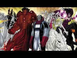 supervillain origins four horsemen of apocalypse from marvel