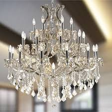 Maria Theresa 6 Light Crystal Chandelier Crystorama Maria Theresa Collection 18 1 Light Crystal