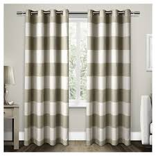 Santa Curtains Rugby Stripe Curtains Target