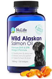 amazon com pure wild alaskan salmon oil for dogs omega 3 fish