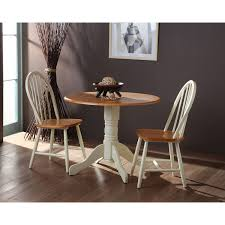 Unfinished Bistro Table Kitchen International Concepts Unfinished Drop Leaf Dining
