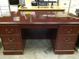 Hon Desk Hutch Basyx By Hon Manage Table Desk Wheat U2013 A U0026m Office Supply