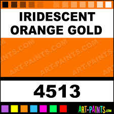 iridescent orange gold transparent stained glass window paints