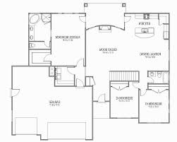 ranch style house floor plans open plan homes open ranch style