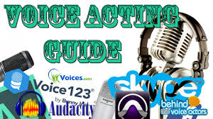 a complete beginners guide to voice acting online youtube