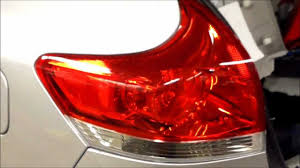 how to replace tail light bulb how to replace rear tail light toyota venza youtube