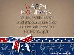 happy holidays messages and wishes celebrations