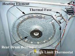 maytag performa dryer pye2300ayw thermal fuse maytag gas dryer