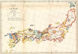 1600 Map Of America by Historical Maps Of Japan