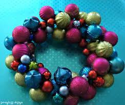 how to make a diy ornament wreath semigloss design
