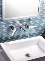 wall mount faucets for vessel sinks waterfall bathroom 43