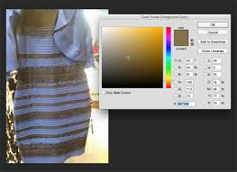 how to tell what colour u0027that u0027 dress actually is using photoshop