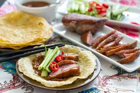 paleo duck pancakes with homemade hoisin sauce