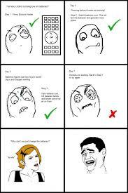 Funny Memes Comics - le batteries le rage comics