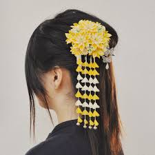 japanese hair ornaments kanzashi the traditional hair ornament for women