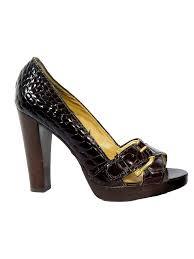 shop michael michael kors croco sandals sabrina u0027s closet