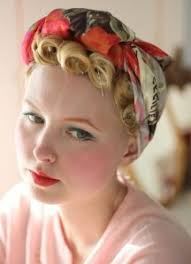 1940s bandana hairstyles 28 best 1940 s images on pinterest braids hair and chignons