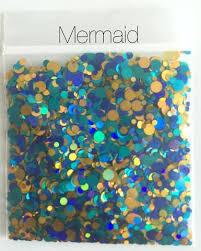 holographic glitter holographic glitter mix dots mermaid kokoglitterbel