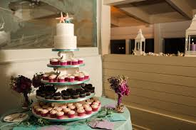 wedding with cupcakes