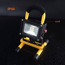 battery powered cl light meikee 10w rechargeable led work light portable security lights