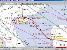 Nassau Map Ft Lauderdale Florida To The Bahamas On The Motor Yacht