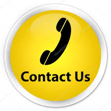 phone icon contact us phone icon yellow button u2014 stock photo faysalahamed