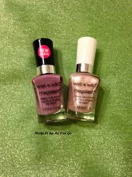 make it up as you go nail polish change wet n wild megalast