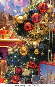 Christmas Decorations Shop Bruges by Christmas Tree In Shop Window Stock Photos U0026 Christmas Tree In
