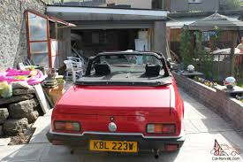 1981 reliant scimitar gtc manual red