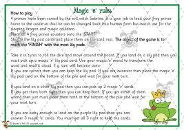 pet magic u0027e u0027 board game premium printable classroom