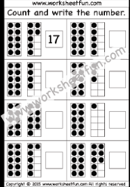 numbers u2013 tens and ones free printable worksheets u2013 worksheetfun