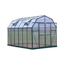 Harmony Greenhouse Palram Harmony 6 Ft X 4 Ft Polycarbonate Greenhouse In Green