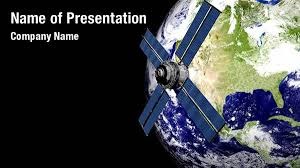 templates powerpoint earth satellite powerpoint template free download lbimaging us