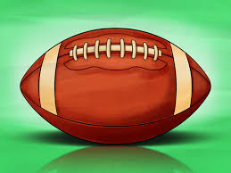how to draw a football 13 steps with pictures wikihow