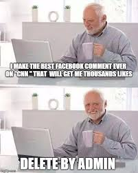 Best Facebook Memes - hide the pain harold meme imgflip