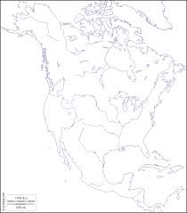 Blank Map Of Americas by Of North America North America Free Maps Free Blank Maps Free