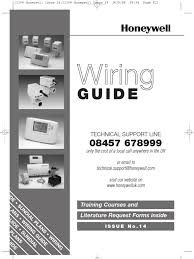 honeywell uk wiring guide issue 14 thermostat water heating