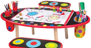 kids art table and chairs kids craft table with paper roll gallery coloring pages