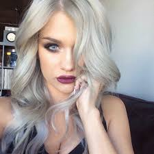 gray hair color trend 2015 silver hair dye on blonde hair nail art styling