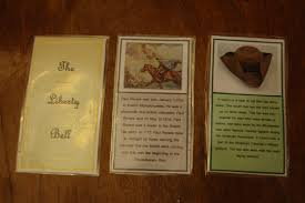 teaching star students american revolution trading cards