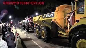 volvo haul trucks for sale volvo dump truck battles 3 monster trucks at once in epic tug of war
