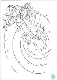 barbie mermaid tale coloring dinokids org