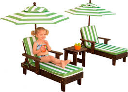 Kids Chaise Lounge Outdoor Chaise Lounge Chairs And Umbrella Set